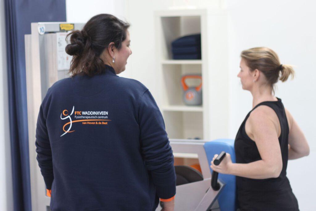De fysiotherapeut van FTC Waddinxveen